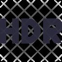 Hdr Dynamic Range Icon
