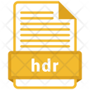 Hdr File Formats Icon