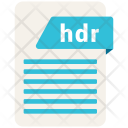 Hdr File Icon