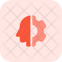 Head And Setting Mind Management Mind Setting Icon