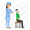 Head Bandage Patient Injured Patient Icon