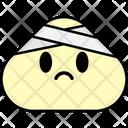 Head Bandage Emoji Emoticon Icon
