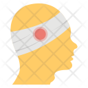 Head Bandage Injury Icon