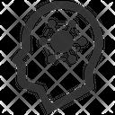 Head Data Network Icon