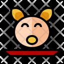 Head Pig Sacrifice Pray Icon
