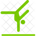 Head Stand Exercise Fitness Icon