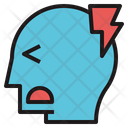 Headache Pain Shock Icon