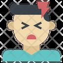 Headache Migraine Severe Icon