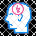 Head Headache Cutting Icon