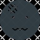 Headache Emoji Face Icon