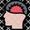 Headache Clinic Medicine Icon
