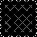 Header left sidebar Icon