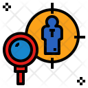 Headhunter Search Find Icon