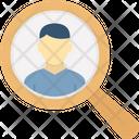 Headhunter Human Resources Job Hiring Icon