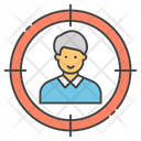 Headhunting Human Resource Staff Selection Icon