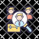 Job Vacancy Headhunting Icon