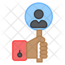 Headhunting Search Person Search Avatar Icon