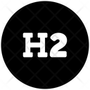 Heading Header Letter H Icon