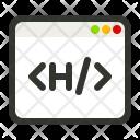 Heading Tag Html Icon
