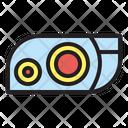 Headlight Car Light Icon