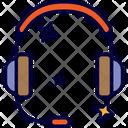 Headphone Listen Call Center Icon