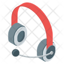 Customer Services Headset Headphones Icon