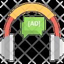 Headphone Ad Headphone Active Directory Service Icon
