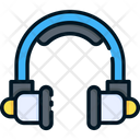 Headphone Support Customer Service Icon