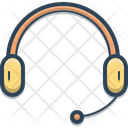 Headphone Earphone Mike Icon
