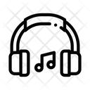 Music Headphones Musical Icon