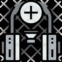 Headphone Add Music Icon