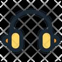 Headphone Audio Digital Icon