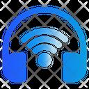 Headphone Wifi Headset Icon