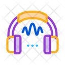 Headphone Sound Soundproofing Icon