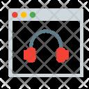 Headphone Music Audio Icon