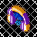 Headphone Sound Soundproofing Icon