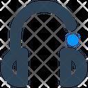 Media Headphone Customer Icon