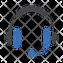Support Headphone Mic Icon
