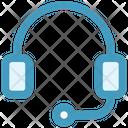 Headphone Telemarketer Listening Icon