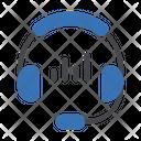 Headphone Music Player Icon