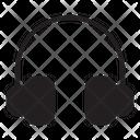Headphone Music Earphone Icon