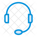 Headphone Music Support Icon