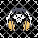 Headphone Head Set Wireless Icon