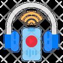 Headphone Mobile Music Icon
