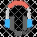 Headphone Mic Headset Icon