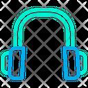 Headset Listening Music Icon