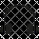 Headphone Music Device Icon