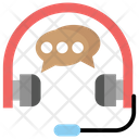 Headphone Communication Icon