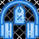 Headphone Discount Icon