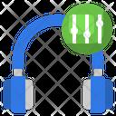 Headphone Equalizer Icon